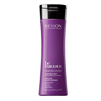 REVLON BE FABULOUS KERATIN SHAMPOO 250ML