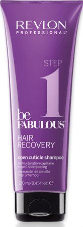 REVLON BE FABULOUS STEP 1 OPEN CUTICLE SHAMPOO 250ML