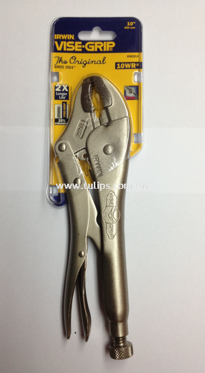 10WR Curved Vise Grip Pliers