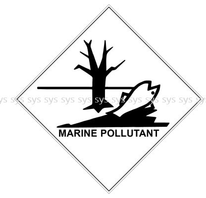 Class Marine Pollutant labels