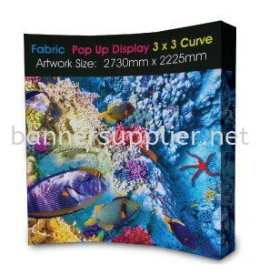 Fabric Pop Up Display (Straight) Pop Up Display Inkjet Print Puchong, Selangor, Malaysia. Suppliers, Design, Supplier, Supply | Oprint Sdn Bhd