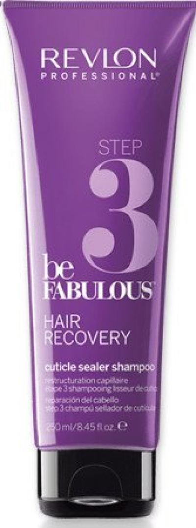 REVLON BE FABULOUS CUTICLE SEALER SHAMPOO 250ML