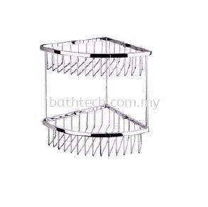 SC-250D Double Layer Corner Basket