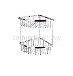 SC-230D Double Layer Corner Basket