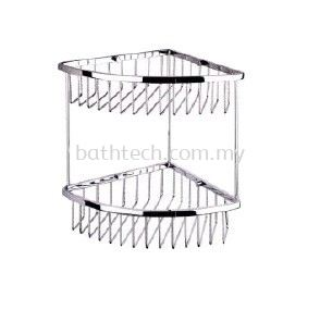SC-260D Double Layer Corner Basket