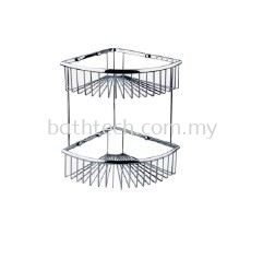 SC-220D Double Layer Corner Basket