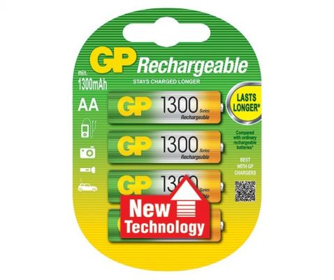 GP Rechargeable Battery (GP-130AAHC)
