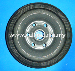 Local Rubber Wheel without bearing