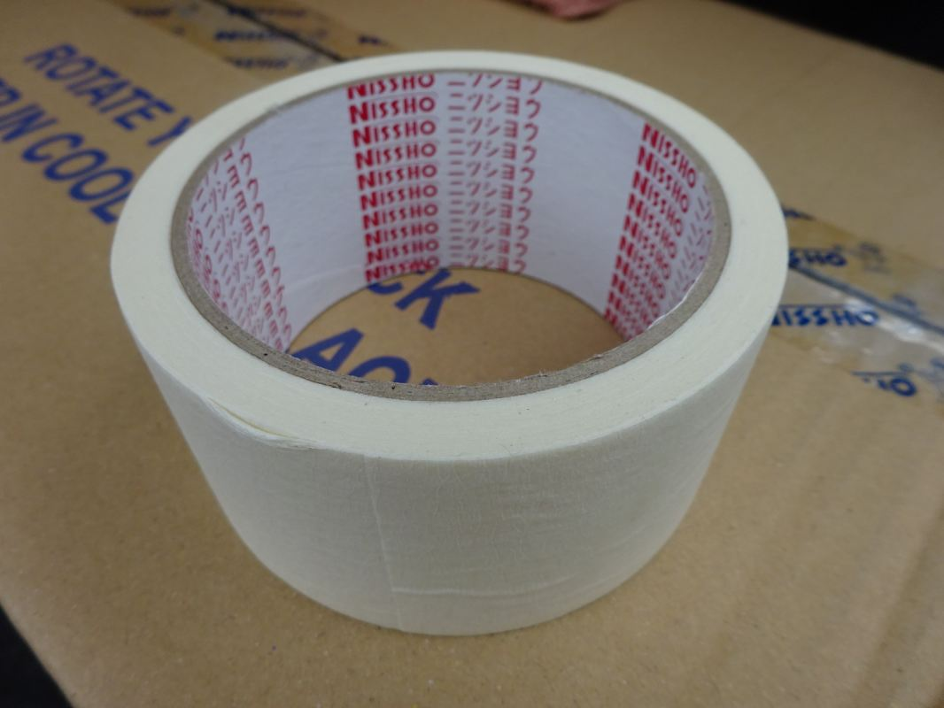 NISSHO MASKING TAPE (48MM X 20YDS [18M]) (72 ROLLS/BOX) NISSHO Hardware Items and Tools Subang Jaya, Selangor, Kuala Lumpur (KL), Malaysia. Supplier, Supplies, Manufacturer, Wholesaler | Culmi Air-Cond & Refrigeration Parts Supply Sdn Bhd