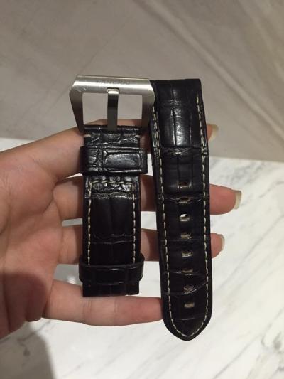 (SOLD) Panerai Crocodile Leather Strap