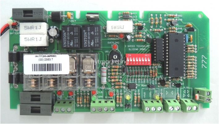 Slider3 -Speed DC Sliding Control Panel