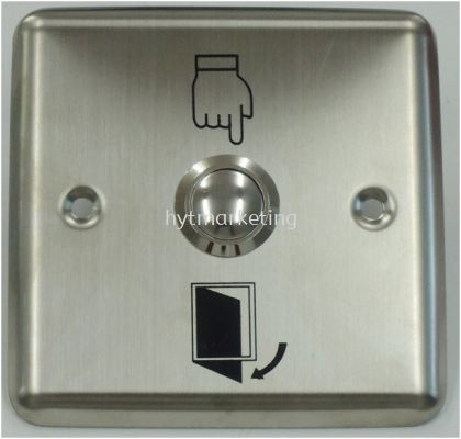 Exit Push Button (StainSteel 3'' x 3'')