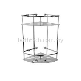 AR-8198 Double Layer Corner Basket