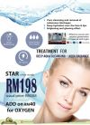 Start your first facial treatment with our advance technology machine in year 2018: Aqua Radiance