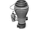 Diffstak 250/2000M, 230-250 V, 1Ø, 50/60 Hz Standard Diffstak 250/2000M Vapour Pump Diffstak Vapour Pumps EDWARDS Oil Vapor Diffusion Pumps