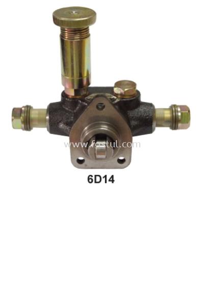 6D14 ENGINE AC PUMP ASSY (DIESEL KIKI)