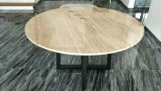 Italian Marble Top Marble Dining Table