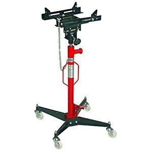 Tall Transmission Jack with Safety Chain