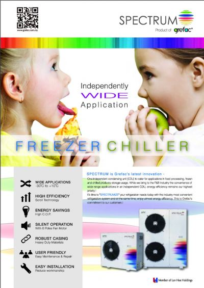 GREFAC SPECTRUM CDU FREEZER CHILLER