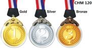 CHM 120 Crystal Hanging Medal  Crystal Series Trophy