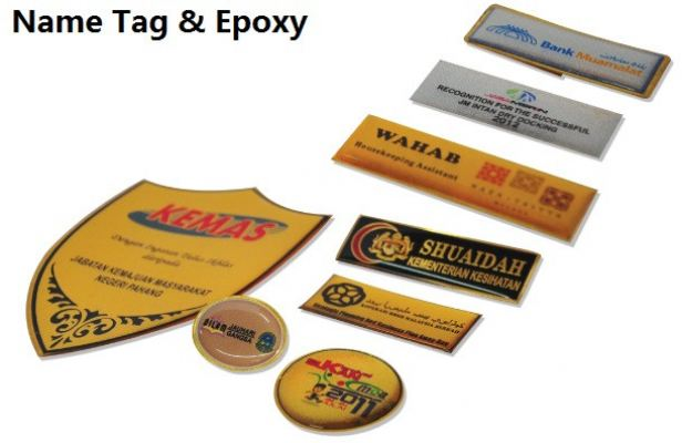 NAME TAG & EPOXY