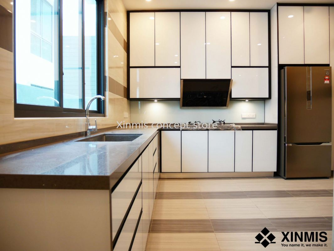 Aluminium Kitchen Cabinet Desa Petaling Minimalism Kitchen Design