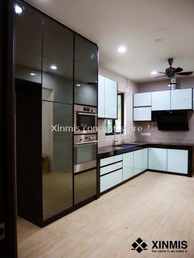 Aluminium kitchen cabinet - Jenjarom