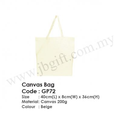 Canvas Bag GP72