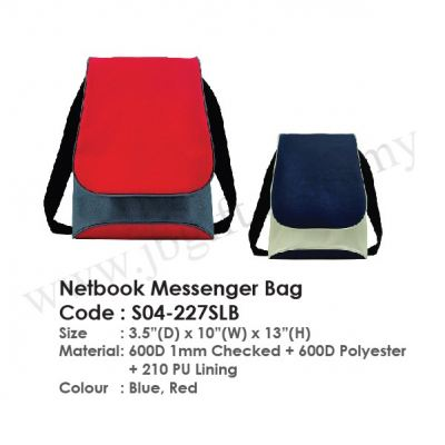 Netbook Messenger Bag S04-227SLB