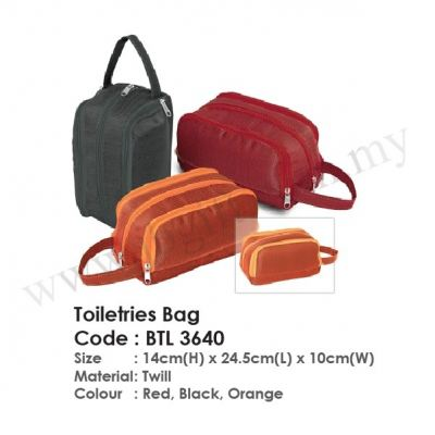 Toiletries Bag BTL 3640