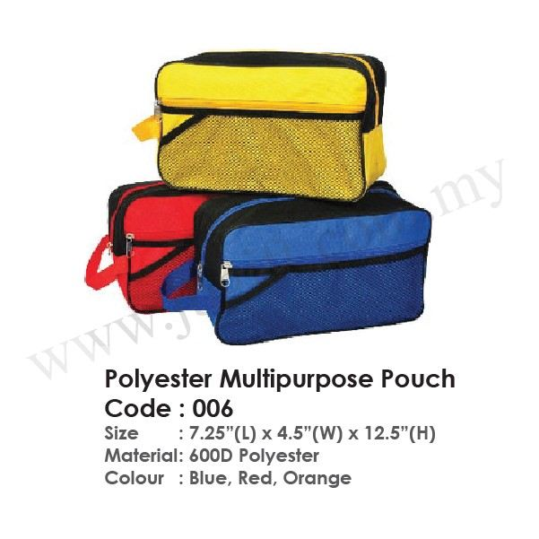 Polyester Multipurpose Pouch 006 Multipurpose Pouch Bag