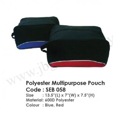 Polyester Multipurpose Pouch SEB 058