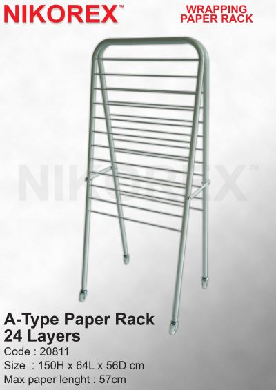 20811-A Type Paper Rack-24Layer