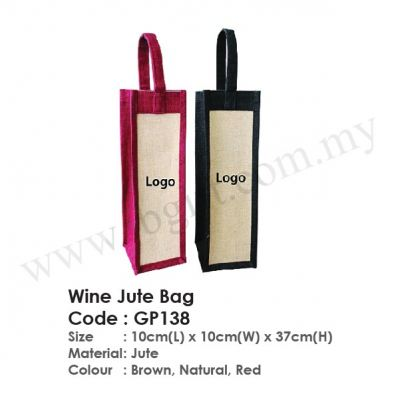 Wine Jute Bag GP138