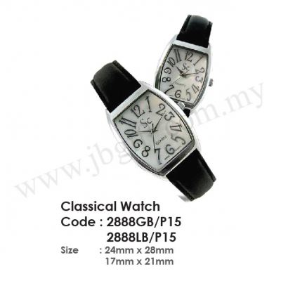 Classical Watch 2888GBP15 & 2888LBP15