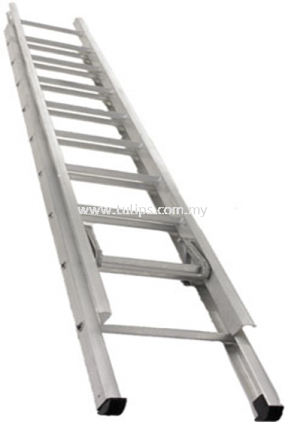 A1 Double Extension Aluminium Ladder