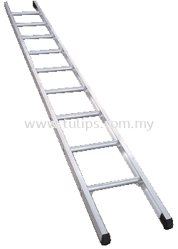A1 Single Pole Aluminium Ladder