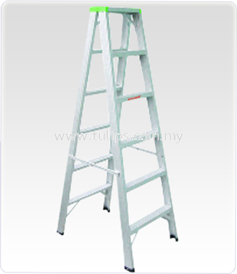 A1 Double Sized and Heavy Duty Aluminium Ladder
