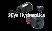 RV Pilot Operated Relief Valve Pressure Control Valve Hydraulics Valve