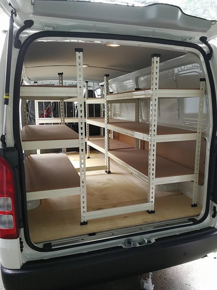 Boltless Rack For Van