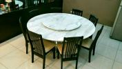 Volakas Marble Top Marble Dining Table
