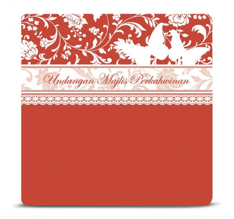 MI Red MI Malay Invitations