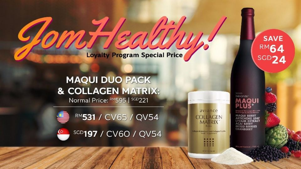 Loyalty Program Jom Healthy!