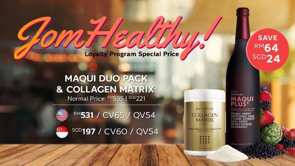 Loyalty Program Jom Healthy!