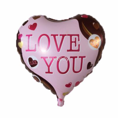 "Foil 18"" Pink Chocolate ILU"
