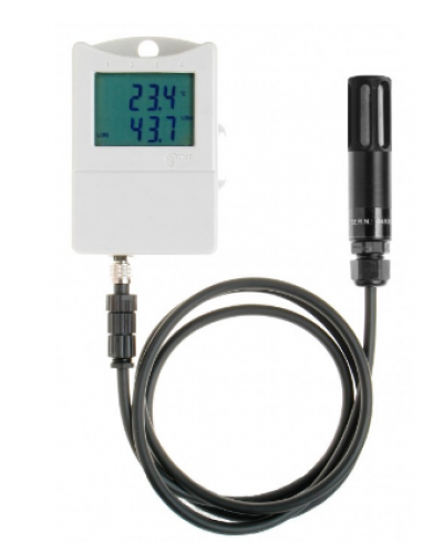 Thermo-hygrometer with external probe