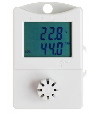 Thermometer hygrometer data logger