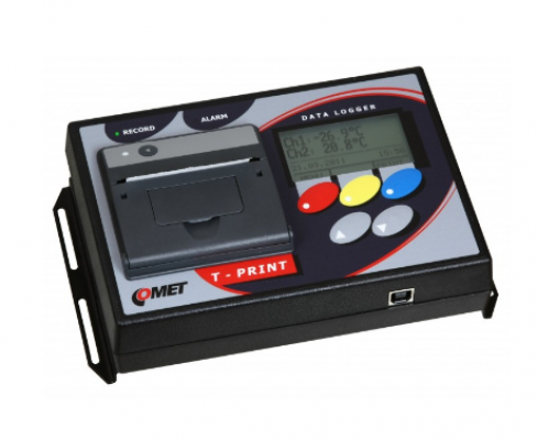 T-PRINT G0241 temperature recorder with printer, 2x binary input