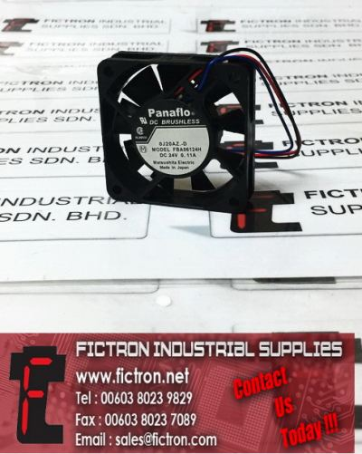 FBA06124H PANAFLO DC Brushless Cooling Fan Supply Malaysia Singapore Thailand Indonesia