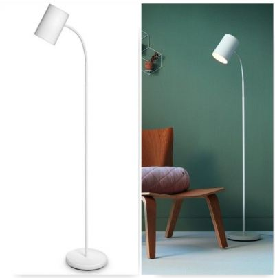 PHILIPS 36056 Floor Lamp Himroo White (without bulb E27)